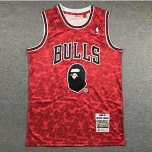 Men's Chicago Bulls Jordan #23 Red Jersey